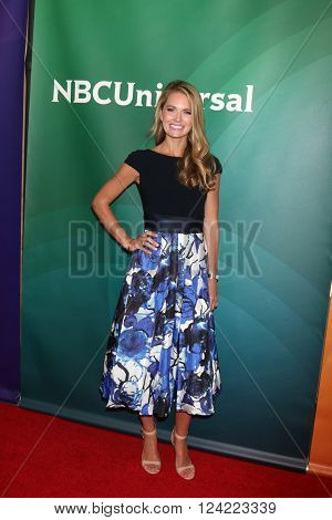 LOS ANGELES - APR 1:  Cameran Eubanks at the NBC Universal Summer Press Day 2016 at the Four Seasons Hotel on April 1, 2016 in Westlake Village, CA