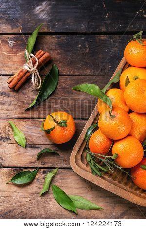 Tangerines With Cinnamon