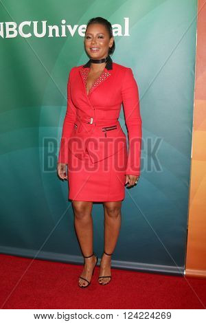 LOS ANGELES - APR 1:  Mel Brown, aka Mel B at the NBC Universal Summer Press Day 2016 at the Four Seasons Hotel on April 1, 2016 in Westlake Village, CA