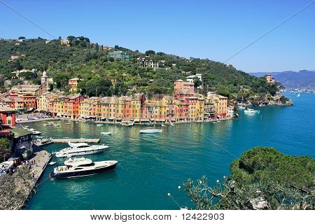 Aerial View On Portofino.