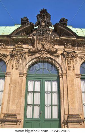 Zwinger Palace door