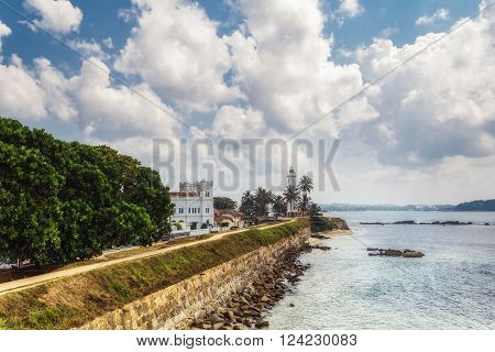 Galle (Sinhala) is a major city in Sri Lanka, situated on the southwestern tip of Sri Lanka, 119 km from Colombo. Galle - the largest city and port in the south of Sri Lanka the capital of the southern province and a popular tourist destination