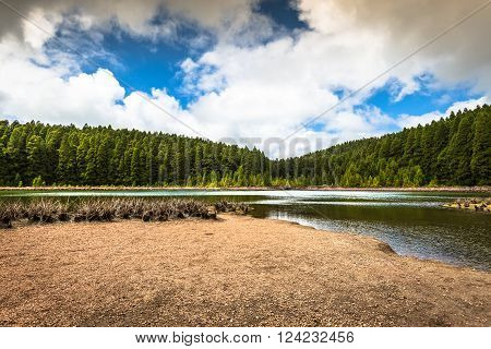 Lakes of Santiago and 7 cidades - Azores Portugal