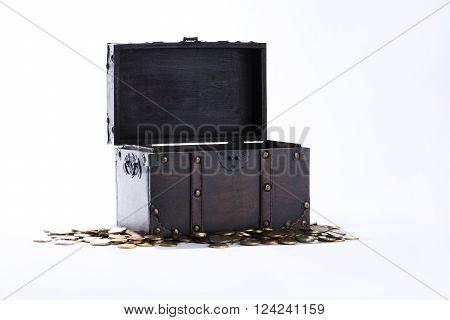 money, chest, is able, mints, treasure-chest, cash, cent, savings, euro, finances,
