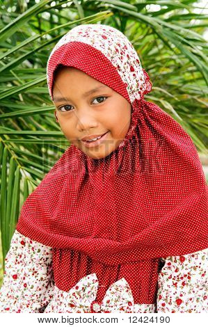 Indonesian Muslim Girl