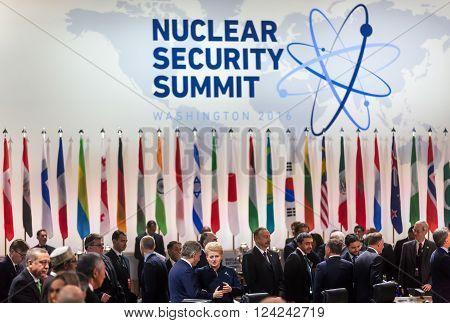 Nuclear Security Summit In Washington, 2016
