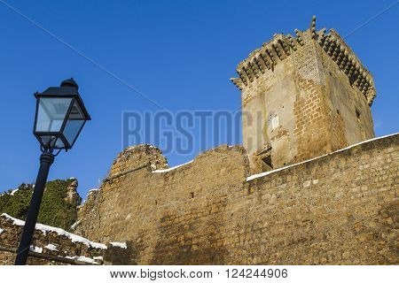 Ancient medieval fortress in the province of Viterbo in Lazio in Italy