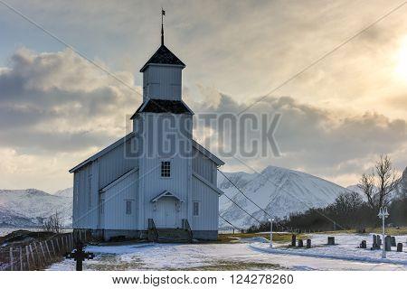 Gimsoy Church - Norway