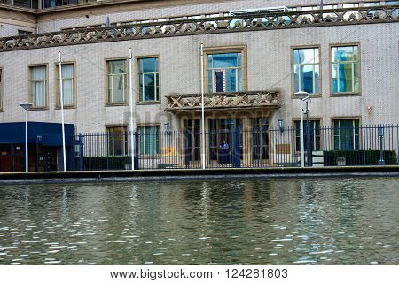 Hague, august 18. 2015. The international UN tribunal in The Hague for war crimes in the former Yugoslavia