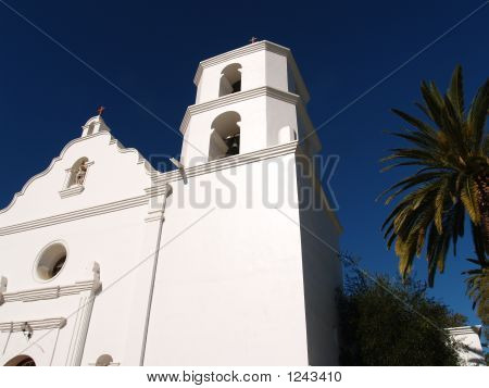 Old Spanish Of Mission Of San Luis Rey