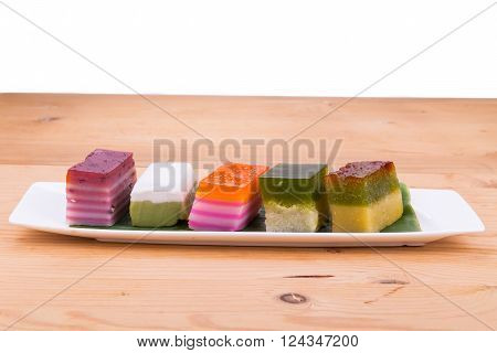 Malaysia Popular Assorted Sweet Dessert Or Known As Kuih Kueh
