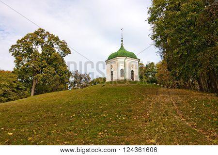 Summer house near Kachanivka palace in Ukraine