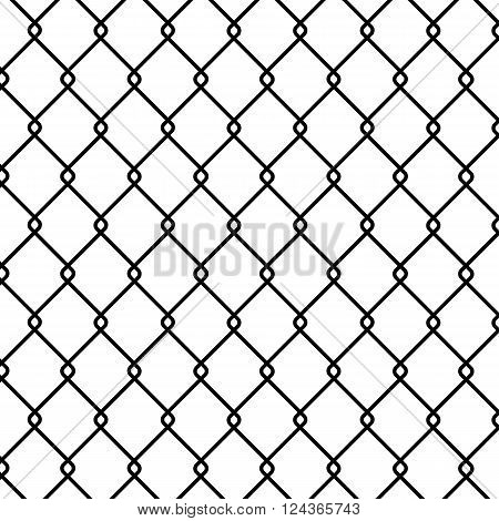 Steel Wire Background - vector illustration isolated