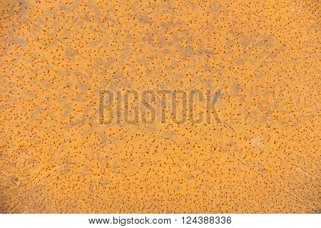 Rust of metal sheet plate, Abstract background.