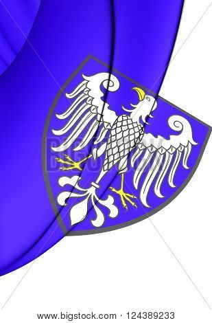 Flag Of Arnsberg City (north Rhine-westphalia), Germany.