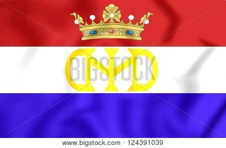 Flag Of Dutch Brazil/new Holland (1581-1654)