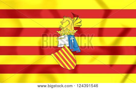 Preautonomous Flag Of The Land Of Valencia