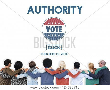 Authority Leader Ruler Politics Concept poster
