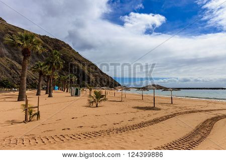 Playa De Las Teresitas Tenerife