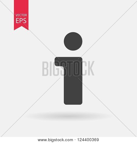 Information icon, Information flat icon, Information web icon, Information icon vector, Information icon eps, Information pictograph, Information icon picture, Information icon jpg, Information object vector illustration