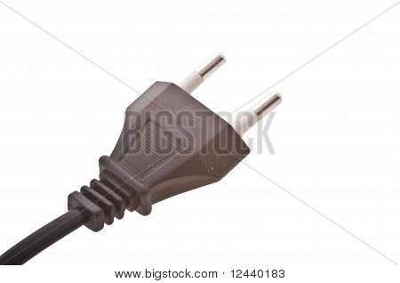 electric plug isolated