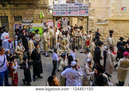 Orthodox Jews Protest , Jerusalem