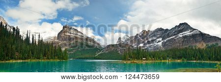 Lake O'hara in Yoho National Park.