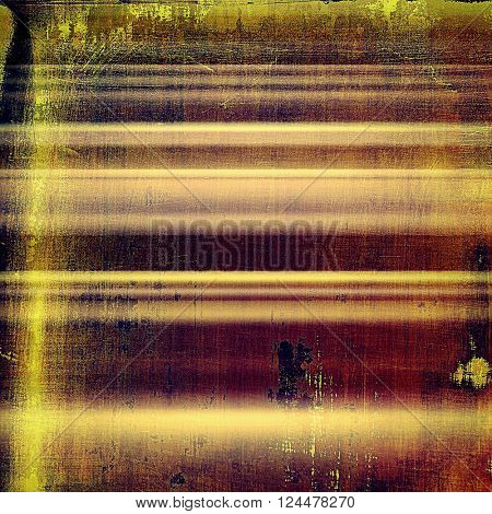 Vintage old-style texture, worn and rough grunge background with different color patterns: yellow (beige); brown; red (orange); purple (violet); pink