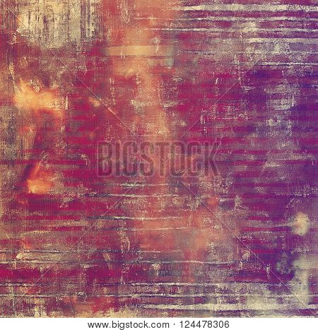 Retro style grunge background, mottled vintage texture. With different color patterns: yellow (beige); brown; red (orange); purple (violet); pink