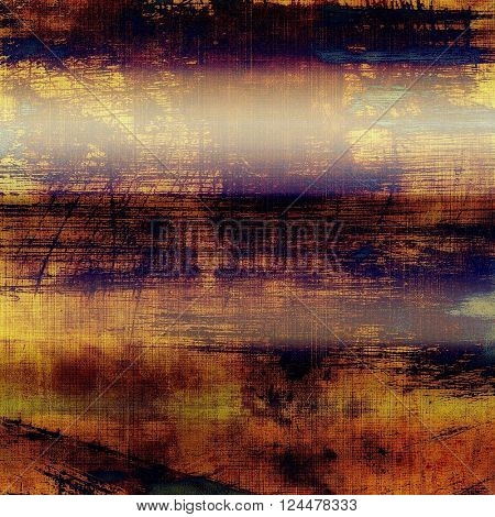 Cute colorful grunge texture or tinted vintage background. With different color patterns: yellow (beige); brown; blue; red (orange); purple (violet); black
