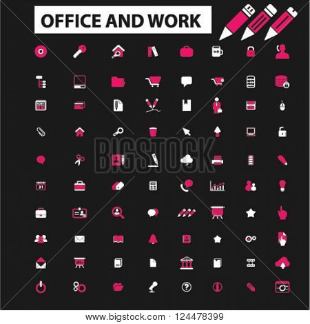 office work icons