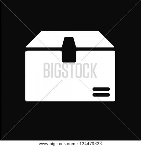 shipping box icon