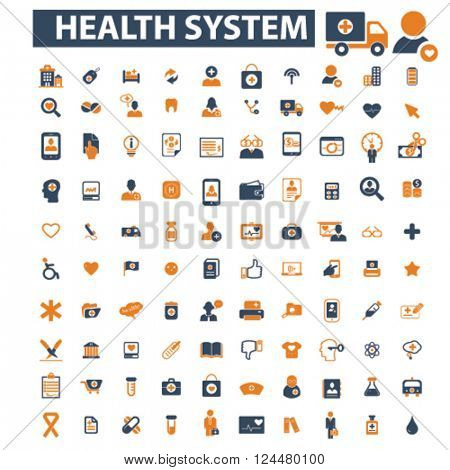 health system icons