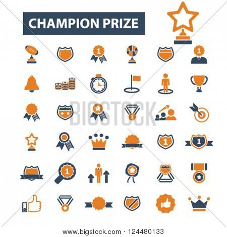 champion prize icons