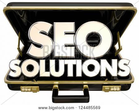 SEO Solutions Briefcase Search Engine Optimization Service Website Ranking