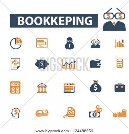 bookkeping icons
