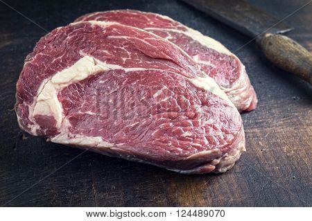 Dry agd Rib-Eye Steak