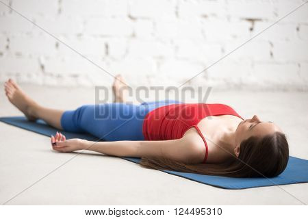 Yoga Indoors: Corpse Pose