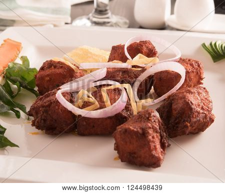 hot Chicken 65 (South India's Famous Cuisine)