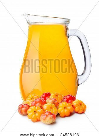 Pitcher Of Cloudberry Smoothie