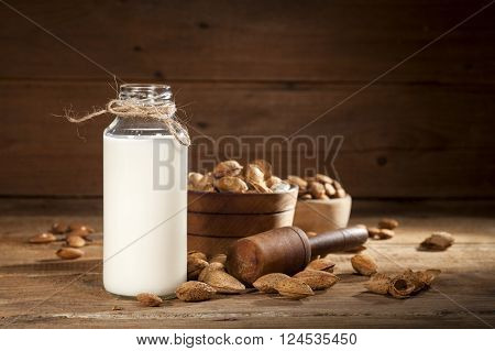 Almond Milk With Almond