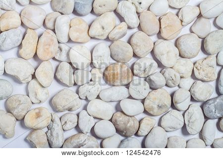 White stone and pattern abstract on background