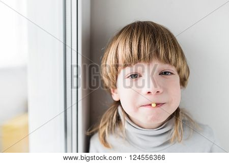 Boy Taking Drugs