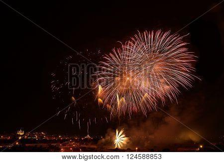 Fireworks festival in ZURRIEQ, Malta, maltese fireworks festival