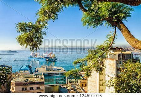Valparaiso City And Ocean View