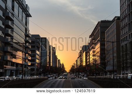 Streets And Architecture Of Washington Dc