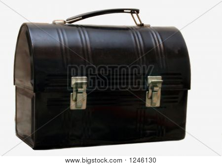 Old Metal Lunchbox Lunch Box