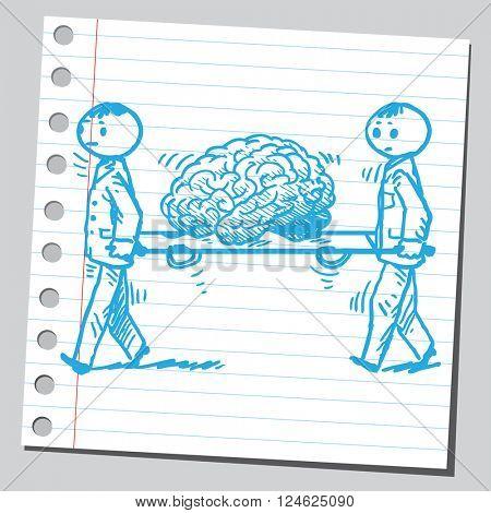 Service for brain