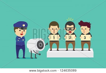 CCTV identify 1 people from 3 suspect for help police to investigation and searching the criminal.