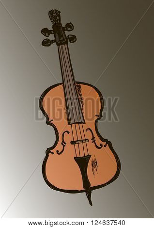 a retro viola and music every day